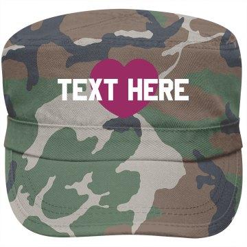 Military Love Cap