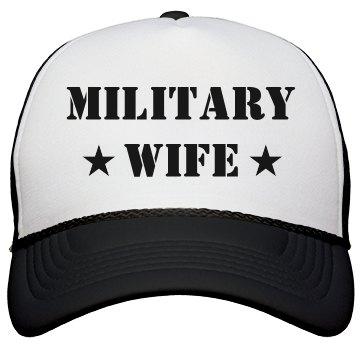Military Wife Camo Heart