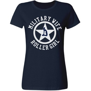 Military Wife Roller Girl