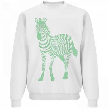 Minty Fresh Zebra