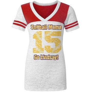 Mom w/Softball Numbers