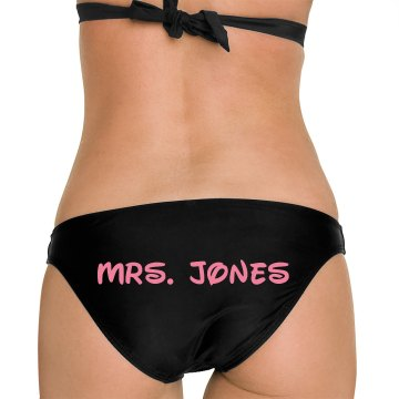 Mrs. Jones Honeymoon