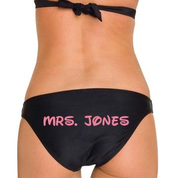 Mrs. Jones Honeymoon