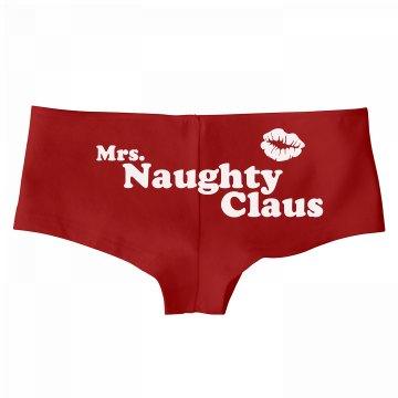 Mrs Naughty Claus