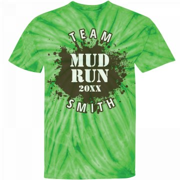 Mud Run Team Tee