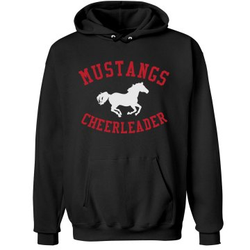 Mustangs Cheerleader
