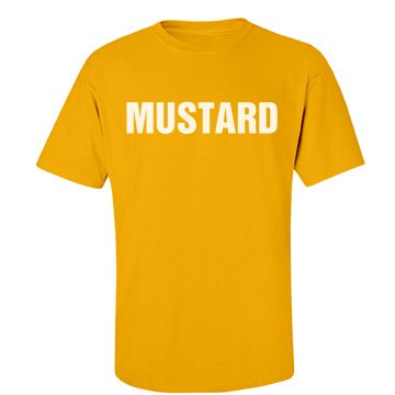 Mustard Couples Shirt