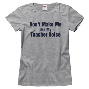 My Teacher Voice