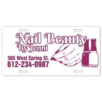 Nail Beauty Plate