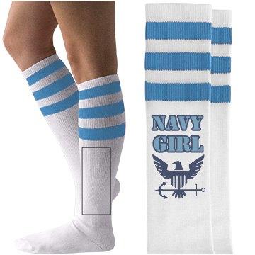 Navy Girl Eagle w/Anchor