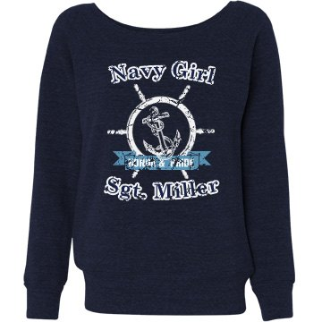 Navy Girl Sweatshirt