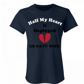 Navy Wife-broken heart