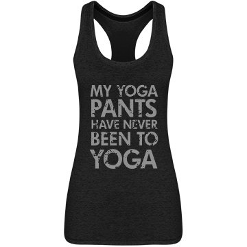 Never Been To Yoga