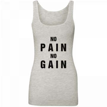 No Pain Workout Tank