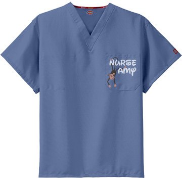Nurse Amy Scrub Top