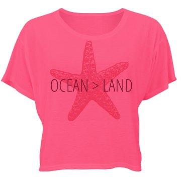 Ocean Over Land