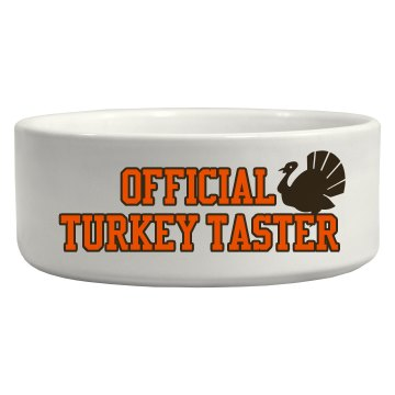 Official Turkey Taster
