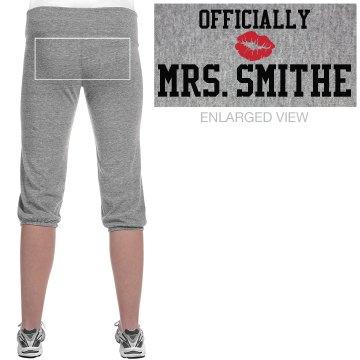 Officially Mrs. Pajamas