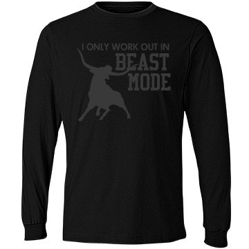 Only Work Out as a Beast