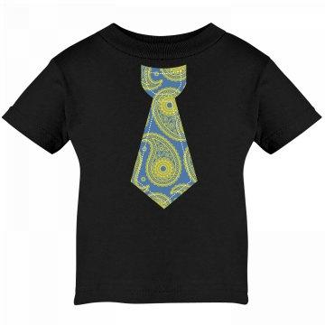 Paisley Tie Infant Tee