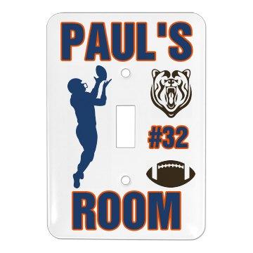 Paul's Football Room