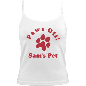 Paws Off Sam's Girlfriend