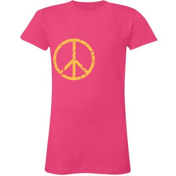 Peace And Love Distressed