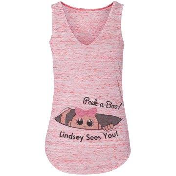 Peek-A-Boo Lindsey