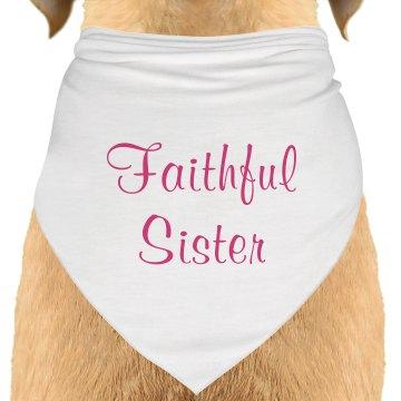 Pet Faithful Sister