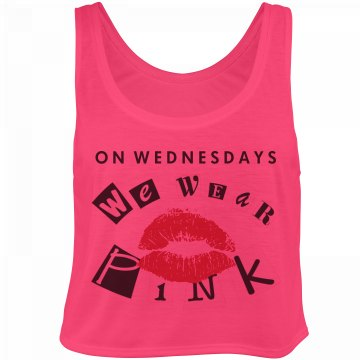 Pink on Wednesdays Kiss