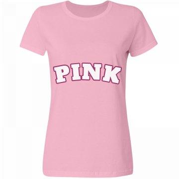 Pink Tee