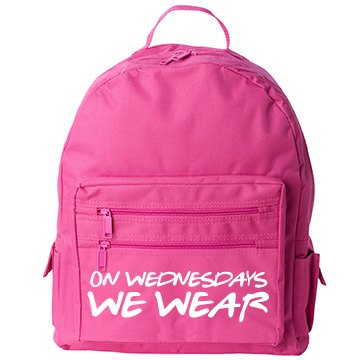 Pink Wednesday At School
