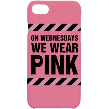 Pink Wednesday Phone Case