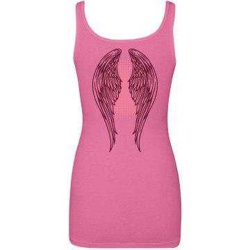 Pink Wings Tank