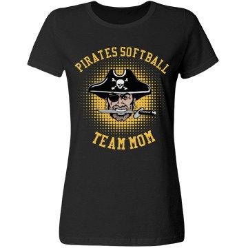 Pirates Softball Team Mom