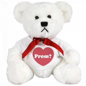 Prom Bear's Big Question