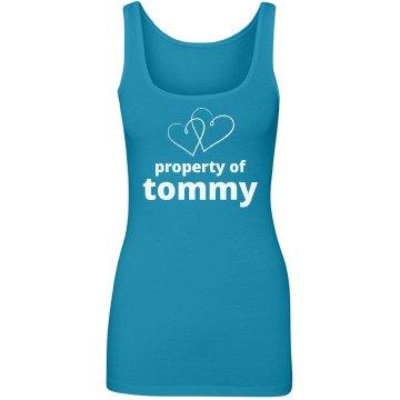 Property of My Boy Tommy