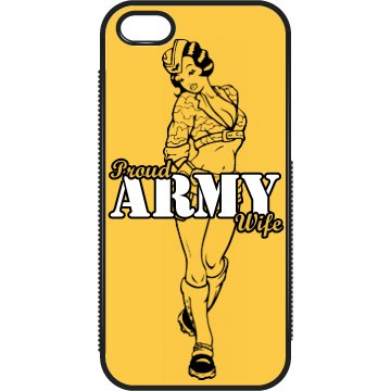 Proud Army Wife iPhone 4