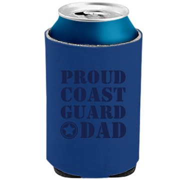 Proud Coast Guard Dad