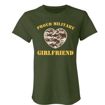 Proud Military Girlfriend