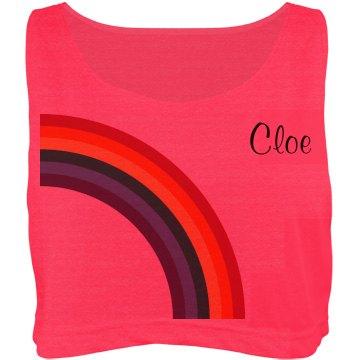 Rainbow Glow Run Girl 2