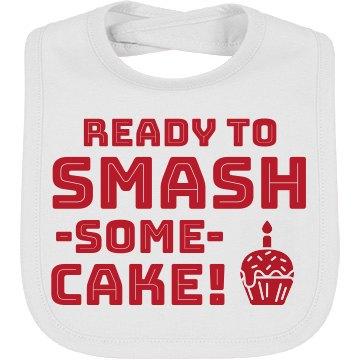Ready To Smash Cake!
