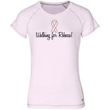 Rhinestone Breast Cancer