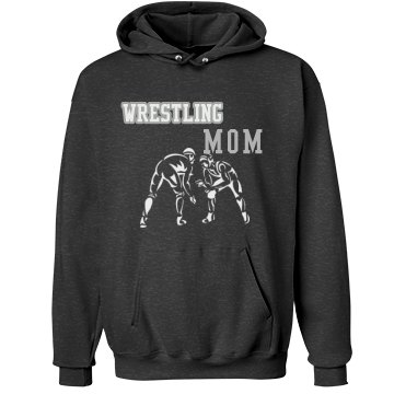Rhinestone Wrestling Mom