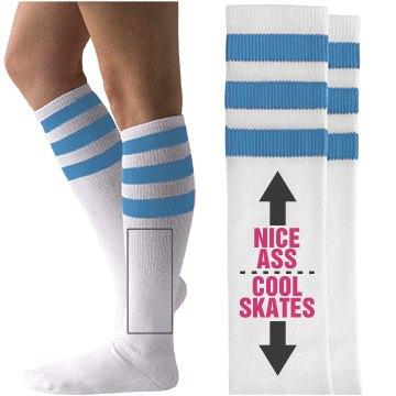 Roller Derby Bragger Socks