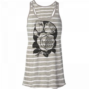 Roses Graphic Tank Top