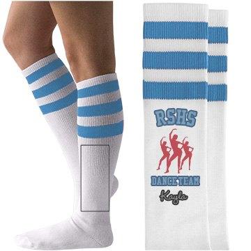 RSHS Dance team socks