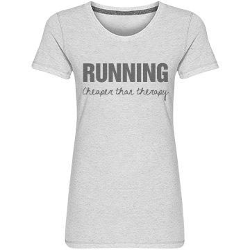 Running is Cheaper