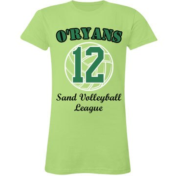 Sand Volleyball Tee