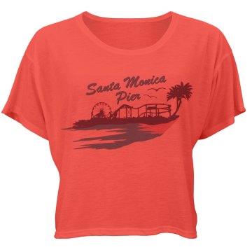 Santa Monica Pier Crop